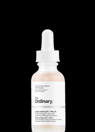 The ordinary молочная кислота 10%+ гиалуроновая кислота 2%
