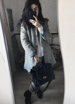 Классное тёплое пальто george