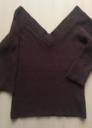 Тёплый свитер кофта zara