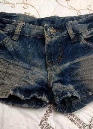 Суперские короткие джинсовые шорты