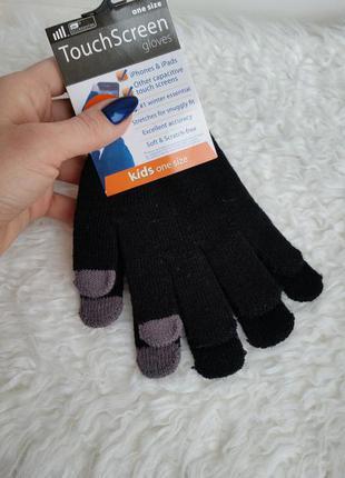 Перчатки тачскр н touch screen детские