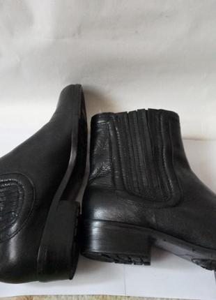 Ботинки clarks натуральная кожа