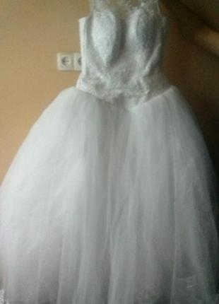 Супер свадебное платье