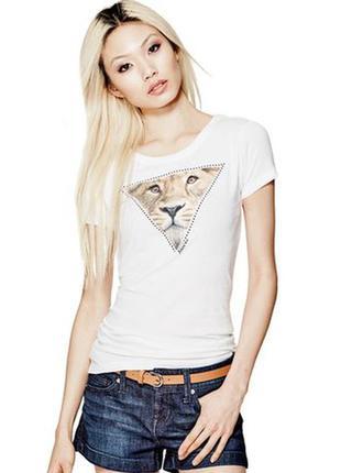 Женская футболка guess оригинал