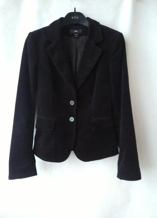 Пиджак жакет из вильвета h&m