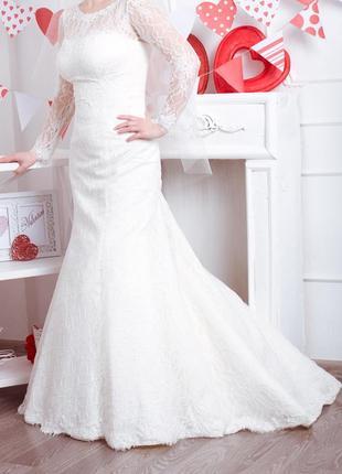 Идеальное платье для свадьбы зимой