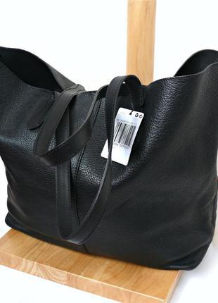 3244fd870d55 Mango кожаная сумка шоппер Mango, цена - 1495 грн, #10135718, купить ...