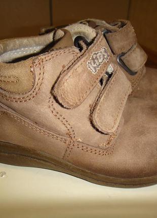 Немецкие кожаные ботинки сапожки на мальчика р. 24 стелька 15,2 kids