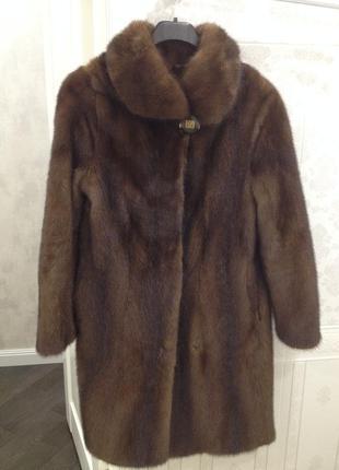 Норковая шуба + кожаная куртка в подарок
