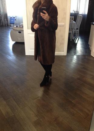 Норковая шуба + кожаная куртка в подарок4