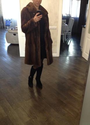 Норковая шуба + кожаная куртка в подарок5