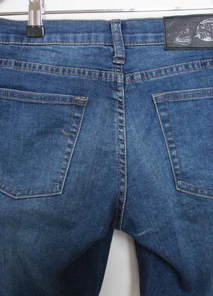 Cheap monday джинсы синие скинни