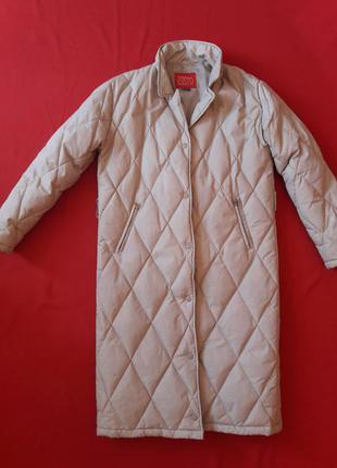 Пуховик -одеяло, кокон, пальто р36-40 (евро)