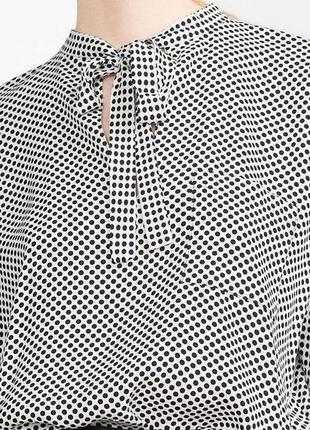 Блузка zara 100% вискоза