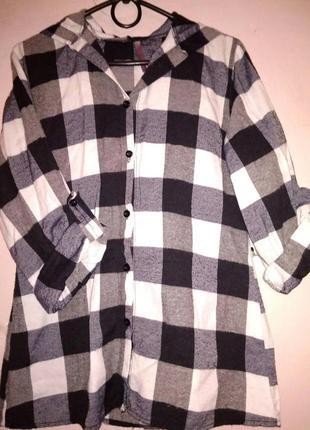 Рубашка с папюшоном
