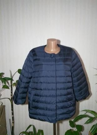 Жакет geox синий, размер 48