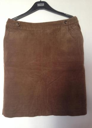 Вельветовая юбка laura ashley