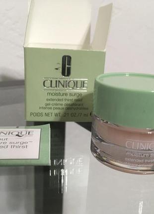 Clinique moisture surge. интенсивно увлажняющий крем  гель различные обьемы