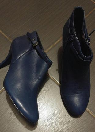 Ботинки из натуральной кожи san marina