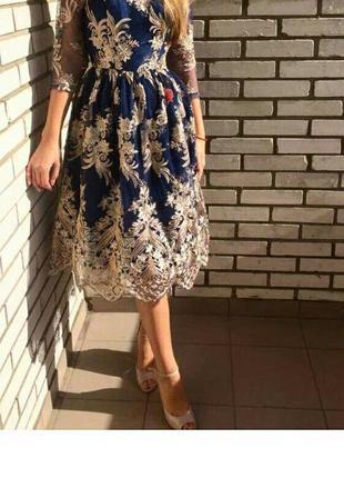 Шикарное платье chichi london