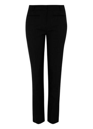 Школьные легкие брюки для девочки george 11-12 лет, 146-152 см. идеальное состояние. форма