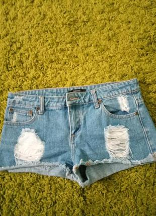 Шорты джинсовые forever 21