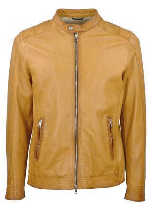 Кожаная куртка gallotti vera pelle