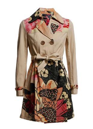 Дизайнерское пальто desigual из испании