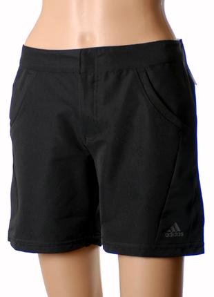 36-38р. чёрные шорты adidas climalite