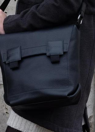 Кожаная сумка | im messenger bag (unisex)