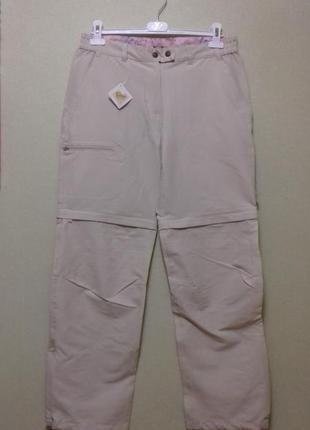 Спортивные / повседневные брюки трансформеры /шорты, размер 40-42 евро