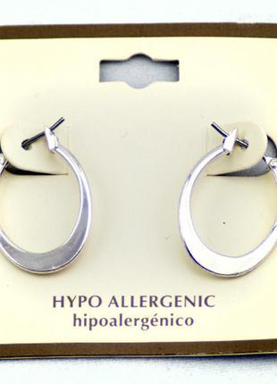 Серьги гипоаллергенные простота