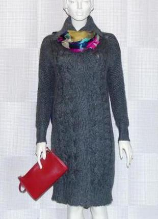 Кардиган esprit свитер туника вязанное пальто