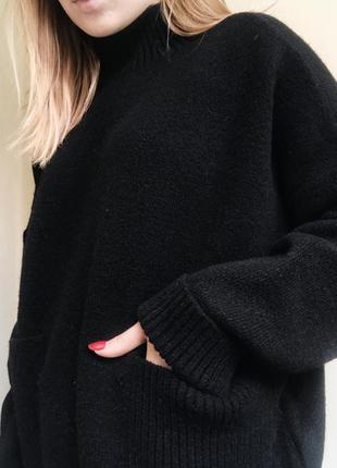 Базовый теплый свитер