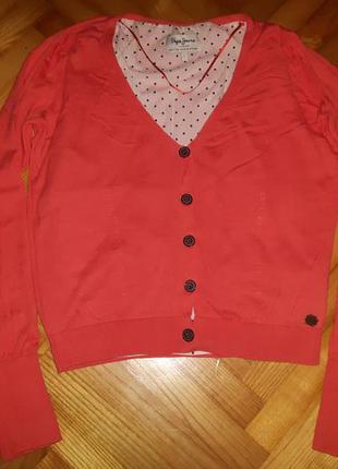 Хлопковый кардиган от pepe jeans! p.-l Pepe Jeans feb5db9f02445