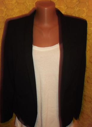 Пиджак  черный р. s -h&m