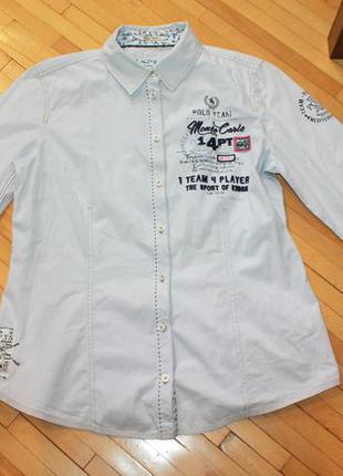 Рубашка соттон tom tailor