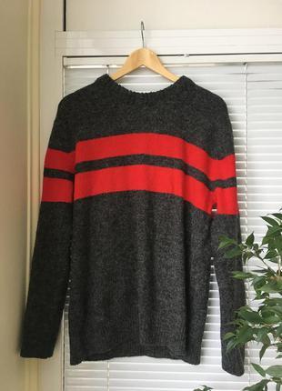 Тёплый стильный свитер h&m