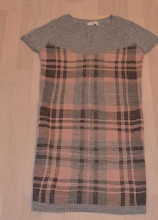 Платье под водолазочку туника кофта безрукавка