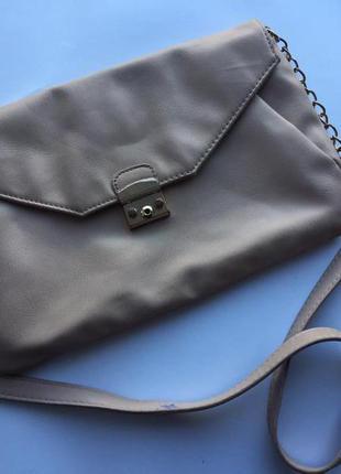 Стильный клатч/пудрового цвета от accessorize