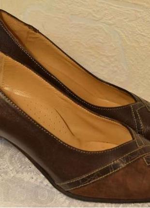 """Р.36  италия, """"paolina"""", 100% натуральная кожа! очаровательные элегантные туфли! комфорт!"""