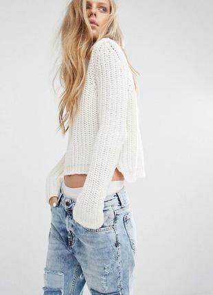 Кроп свитер pull&bear