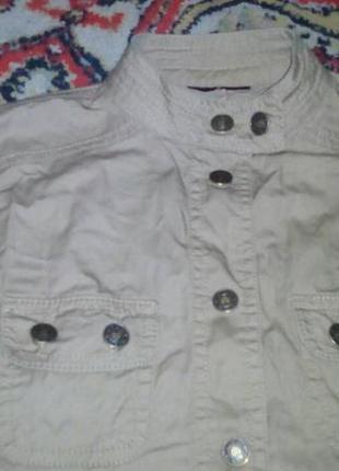Девчоночья рубашка(куртка-ветровка) в джинсовом стиле