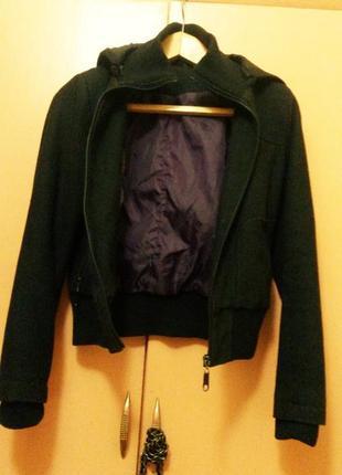 Куртка кашемировая 10 р. черная look