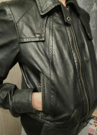 Куртка с натуральной кожи topchop