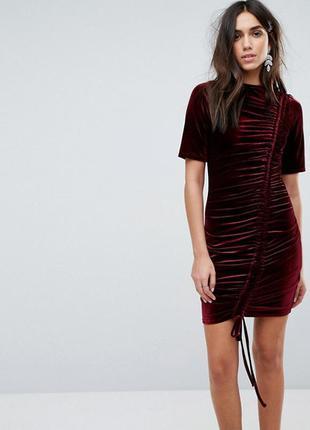 Платье asos uk12-14