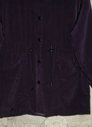 Куртка фиолетового цвета,,р.50