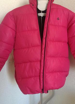 Крутая розовая куртка h&m