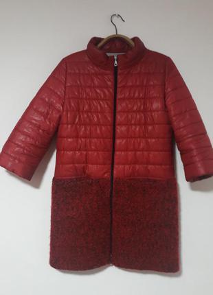 Стильное пальто демисезон на весну  от украинского бренда. тренд 2018 - красное пальто