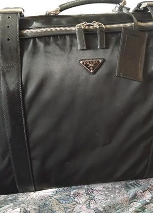 Дорожня сумка prada, оригінал
